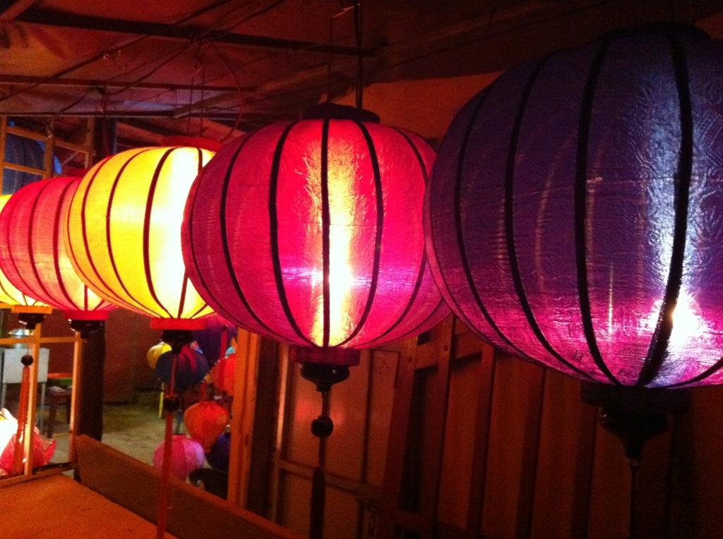 Lanterns aglow in Hoi An