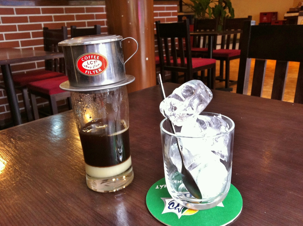 Vietnamese iced coffee old style