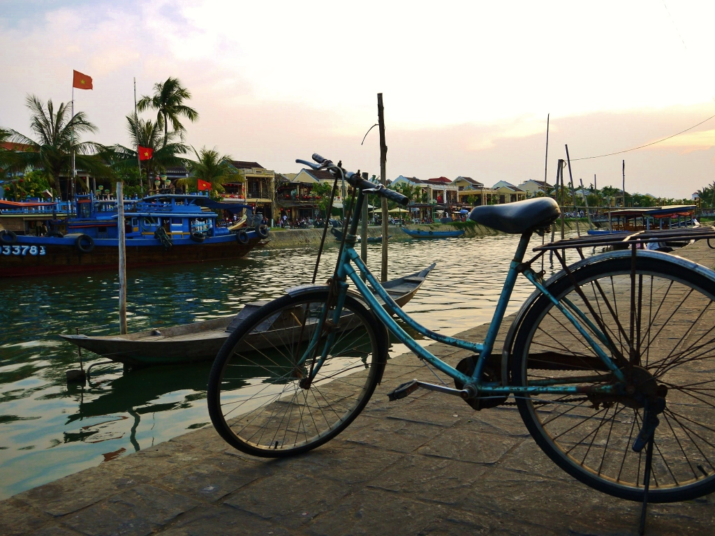 Along the river in Hoi An